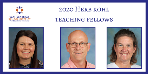 2020 kohl award teacher fellows