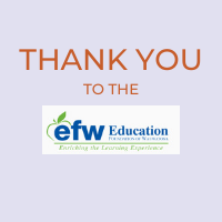 EFW Grants Almost $104,000 to School District Educators to Bring Innovative Learning Tools and Opportunities to District Students Next Year