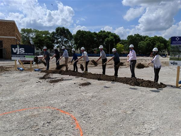 McKinley Elementary School Celebrates Groundbreaking
