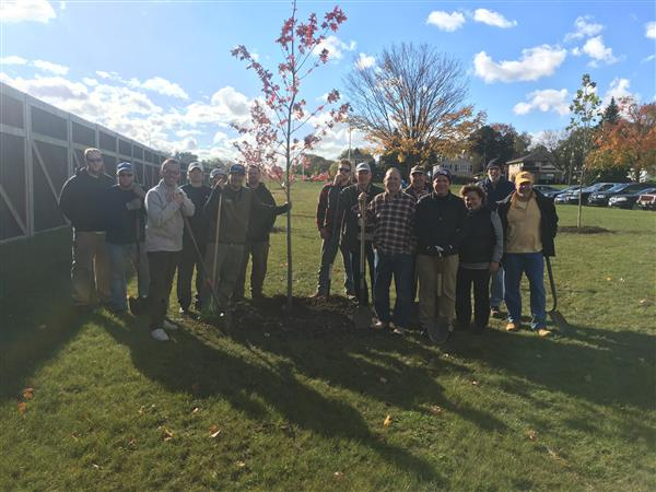 Mayfair Rotary donates trees to Wauwatosa School District as part of national call to action