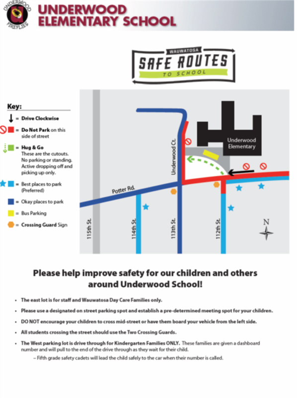 safe routes to school map